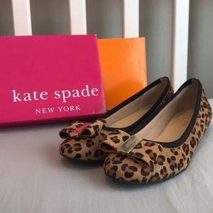 Kate Spade Cheetah Print Flats
